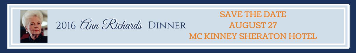 2016 Ann Richards Dinner