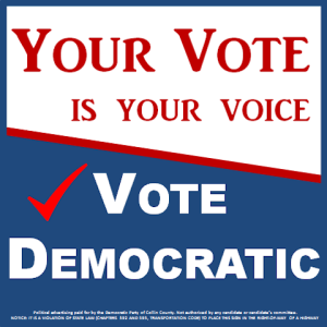 Your Vote is Your Voice Sign