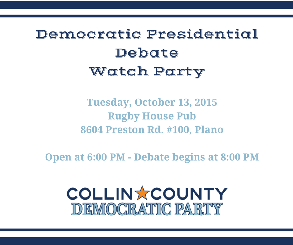 First Democratic Debate Watching Party