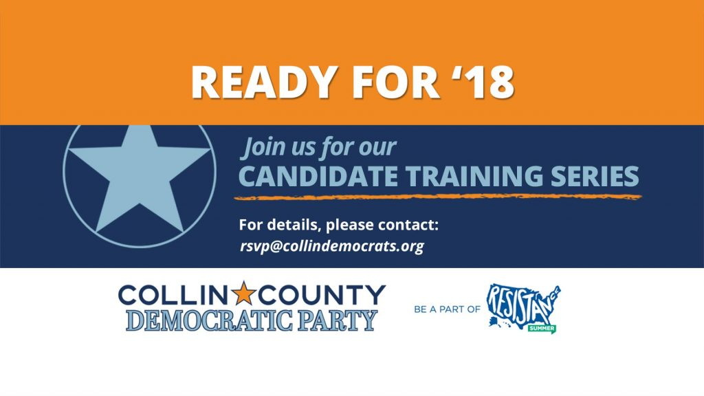 Ready for '18 Candidate Training Series