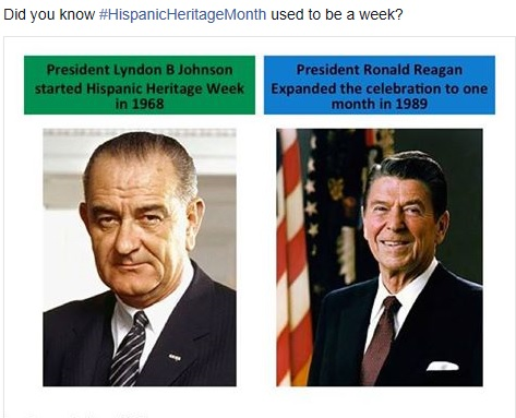 SEPT 17th: This Day in History- National Hispanic Week Created