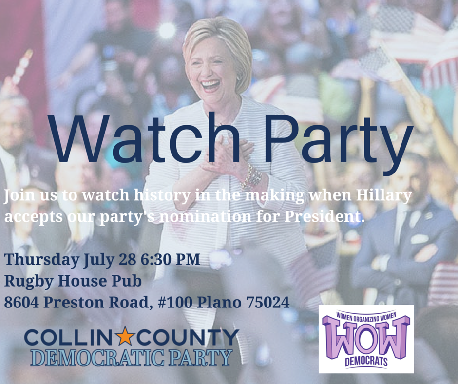Convention watch party!