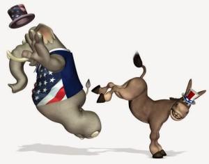 democrats kick gop butt