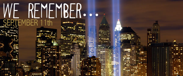 9/11: Let's Take a Moment to Remember . . . .