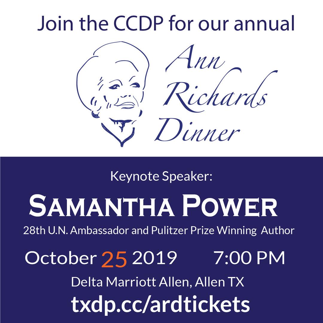 Ann Richards Dinner Tickets
