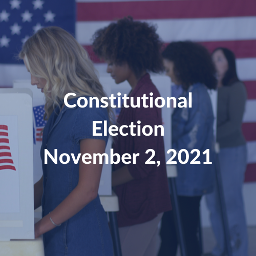 Constitutional Election Nov 2 2021