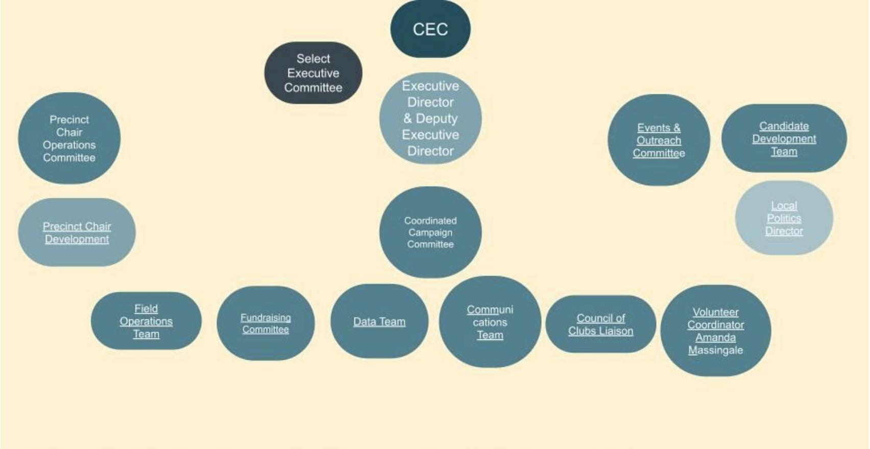Diagram of the CCDP Election Apparatus