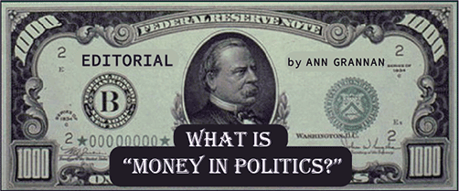 "What is ""Money in Politics?"""