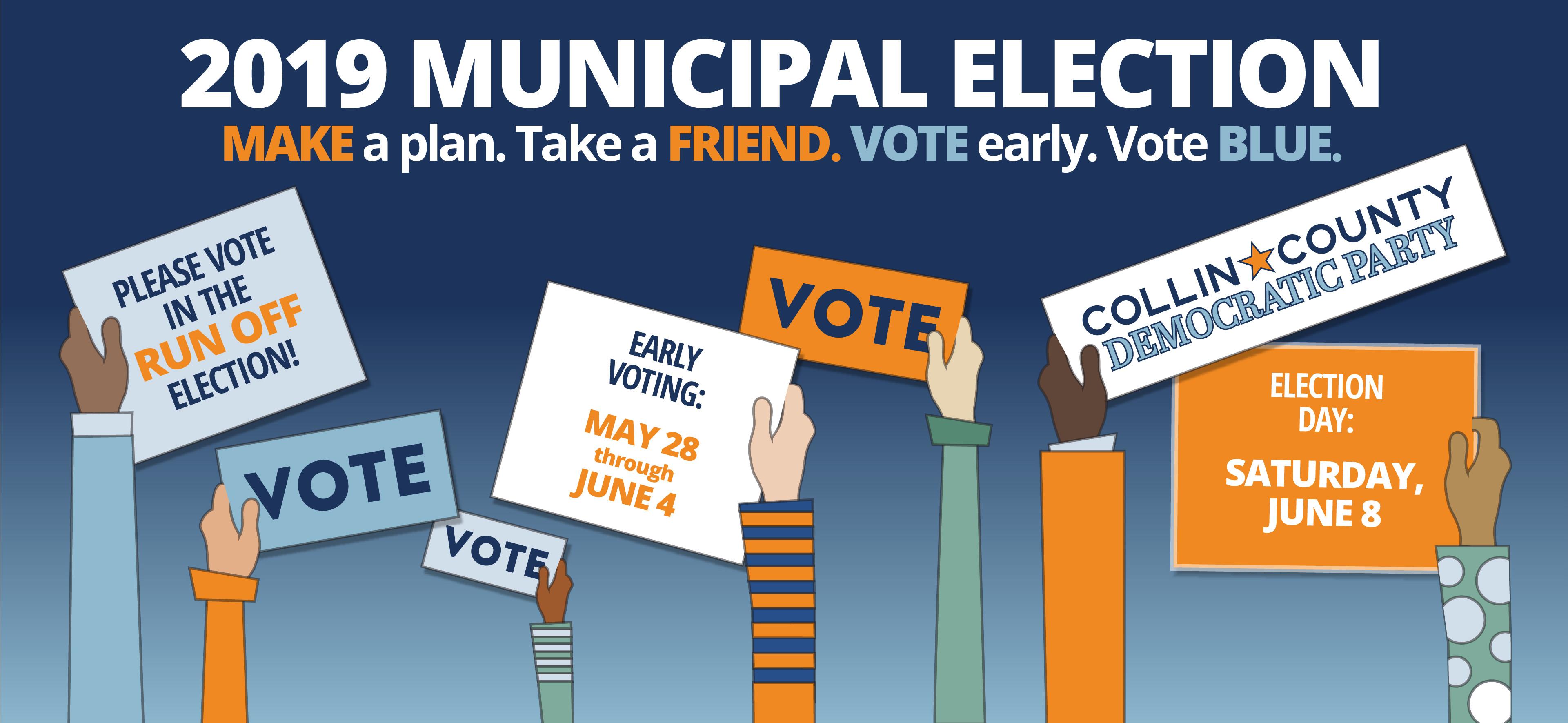 2019 Municipal Election Run Off Dates
