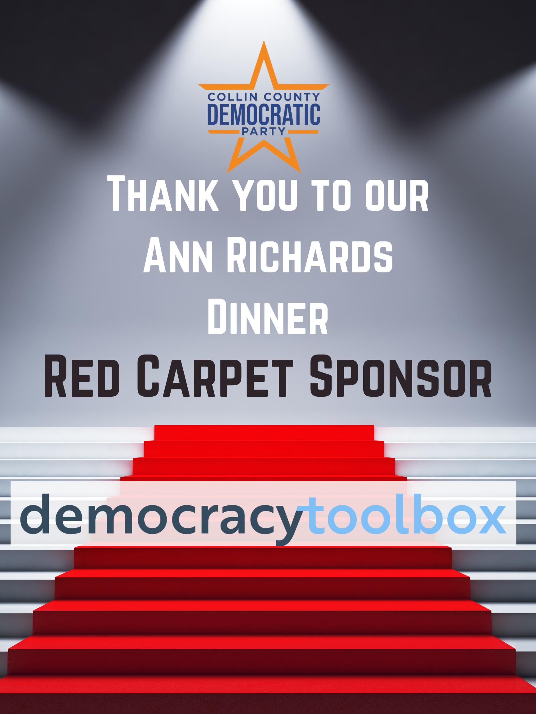 2021 ARD Red Carpet Sponsor democracytoolbox