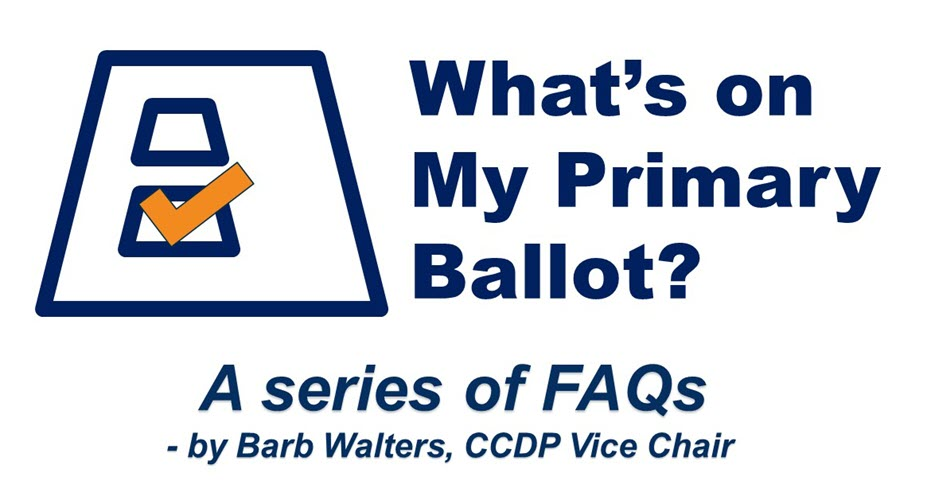 What's on my Primary Ballot?