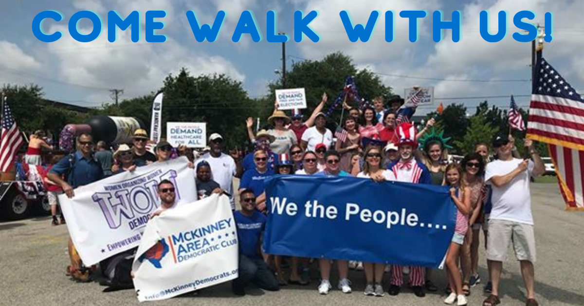 Come walk with McKinney Dems!